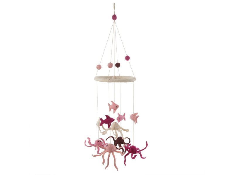 Indaba Trading Under The Sea Mobile Pink