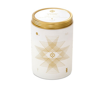 Jasmine and Lotus Totem White Candle