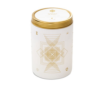Juniper and Mint Totem White Candle