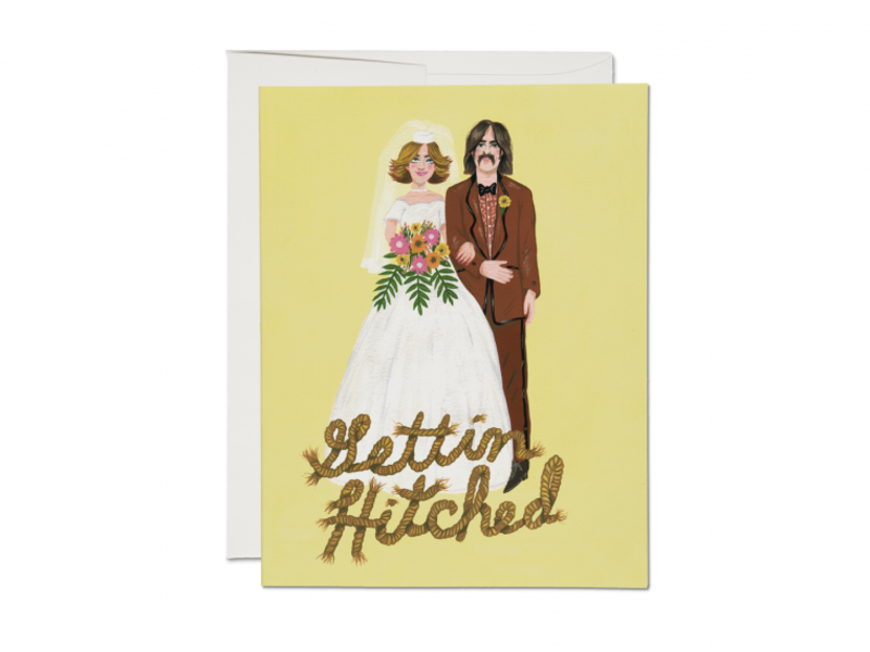 Red Cap Cards Gettin' Hitched