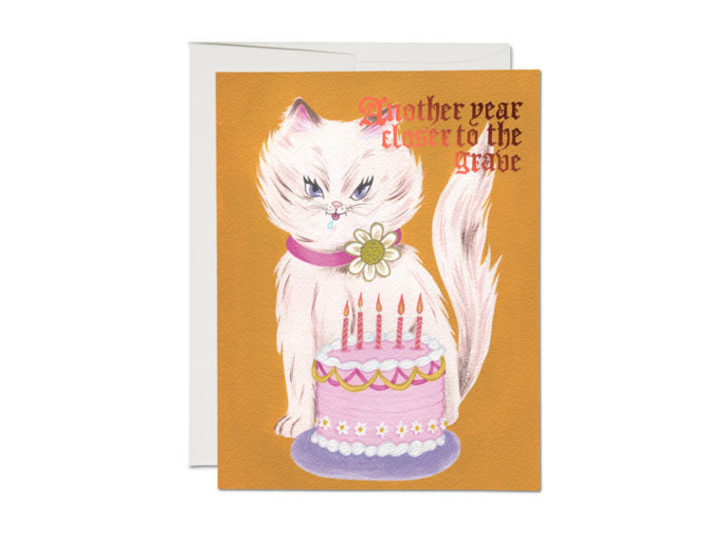 Red Cap Cards Kitty and Cake
