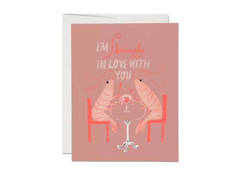 Red Cap Cards Shrimply