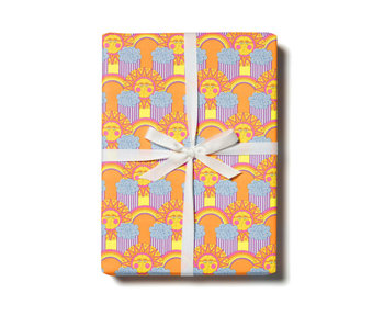 Sun and Rainbows Gift Wrap