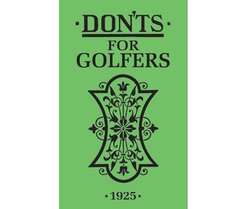 Dont's For Golfers
