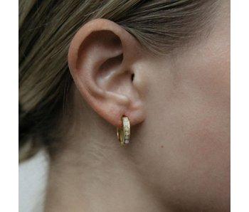 Marcy Hoop Earring