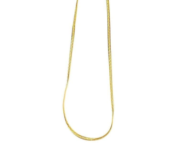Jonesy Wood Renata Herringbone Chain Necklace