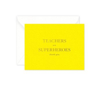 Teachers are Superhero's