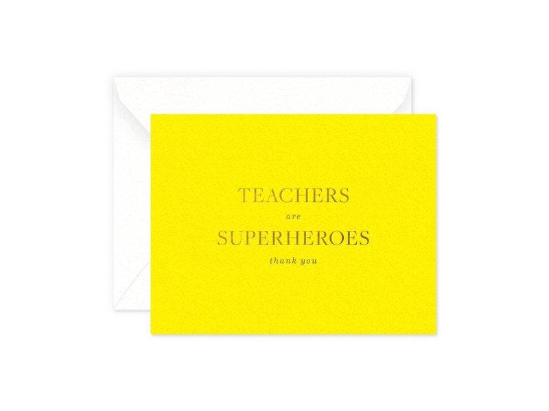 Smitten on Paper Teachers are Superhero's