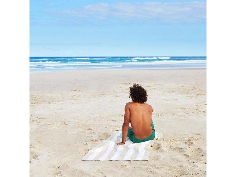 Doc & Bay Cabana Beach Towel  Bora Bora Beige