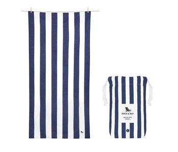 Cabana Beach Towel Navy Blue