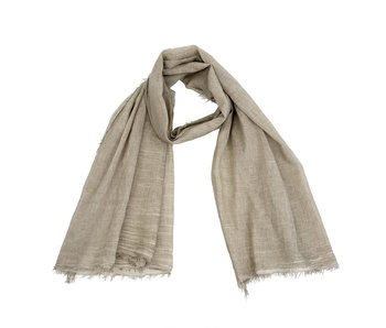 Antique Dye Scarf Beige