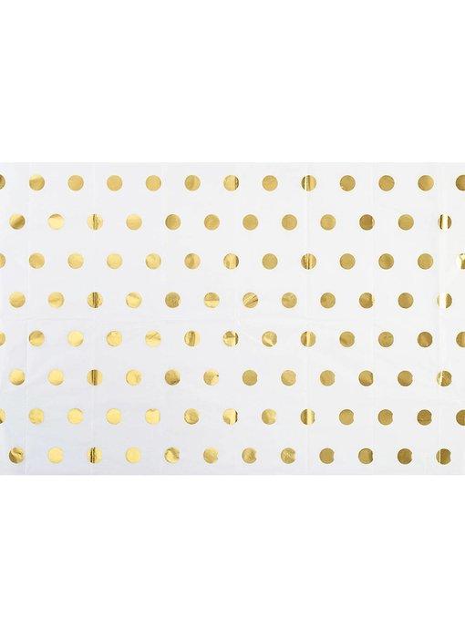 Gold Polka Dot Tissue Paper