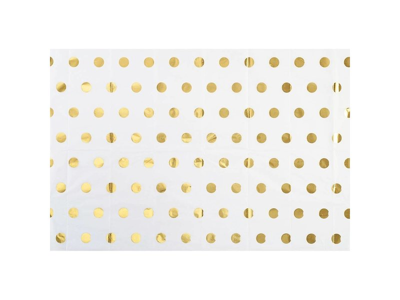Paper Source Gold Polka Dot Tissue Paper