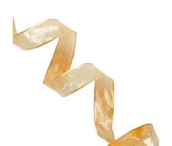 Sacramento Gold Metallic Ribbon