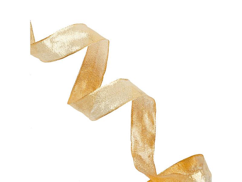 Paper Source Sacramento Gold Metallic Ribbon