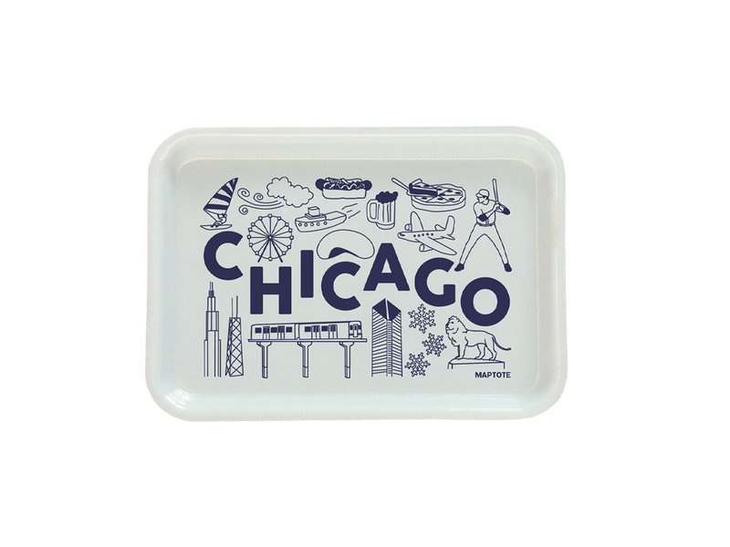 Maptote Chicago Small Tray