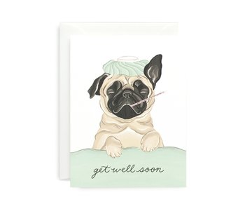 Get Well Pug