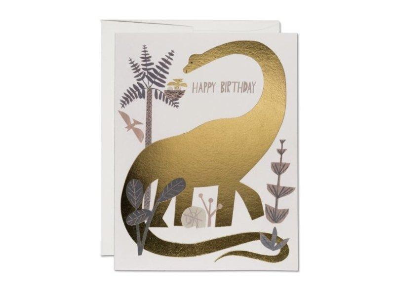 Red Cap Cards Dinosaur Birthday