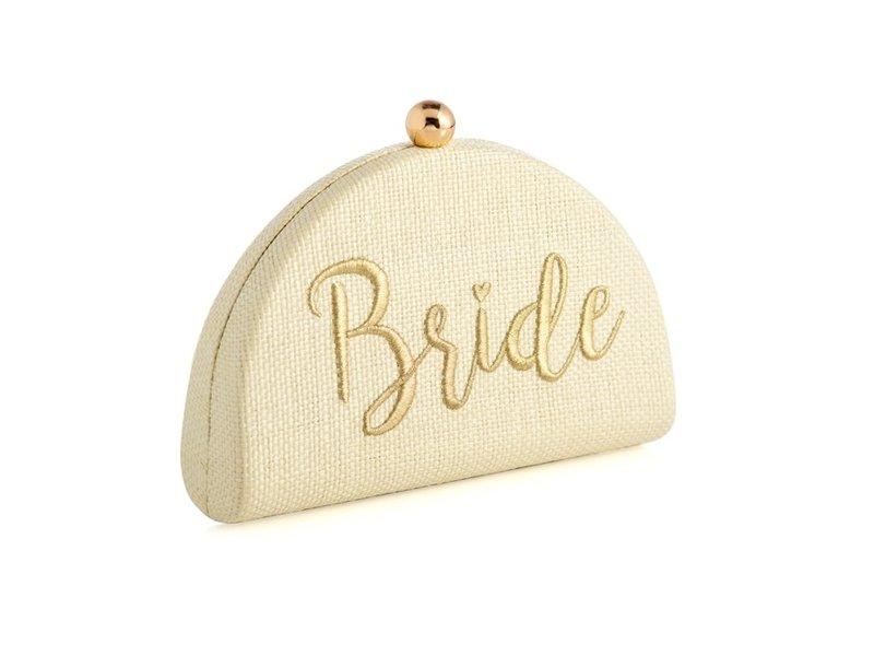 Shiraleah Bride Ivory Clutch