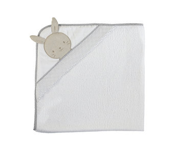 Bunny Face Hooded Bath Towel