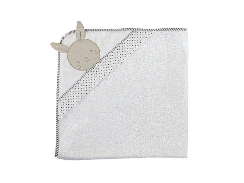 Mayoral Bunny Face Hooded Bath Towel