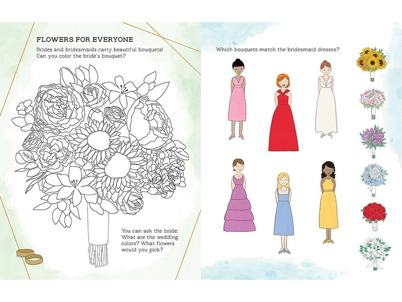 Macmillan Publishing Will You Be My Flower Girl Activity Book