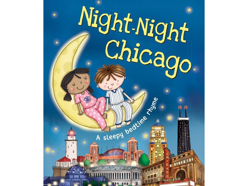 Sourcebooks, Inc. Night Night Chicago