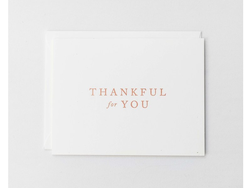 Kindly Cards Thankful For You