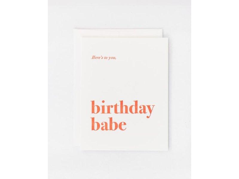 Kindly Cards Birthday Babe