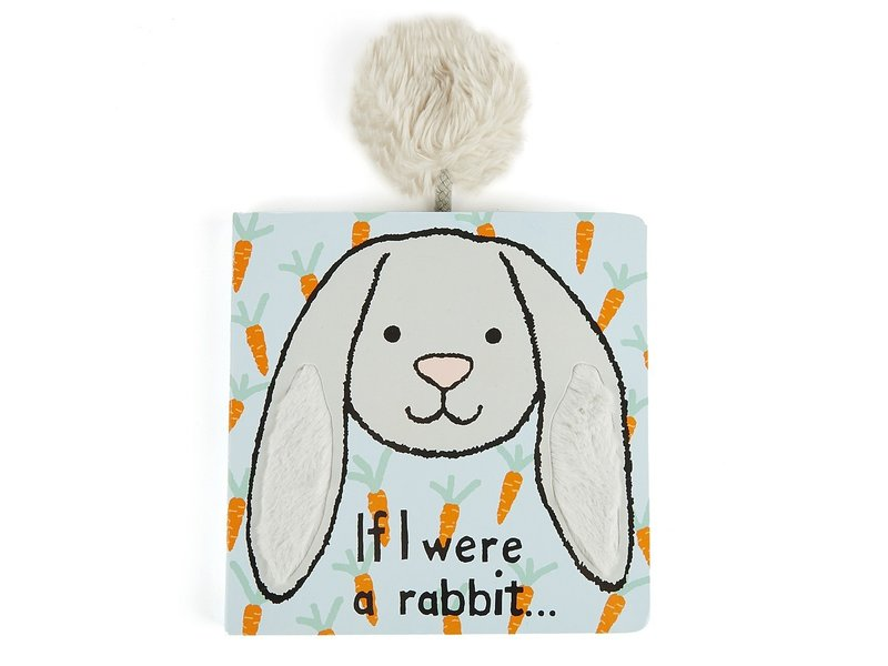 JellyCat Inc If I Were Rabbit Book