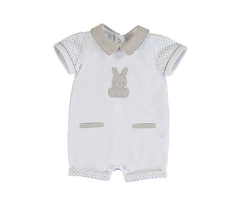 Bunny Knit Short Coverall