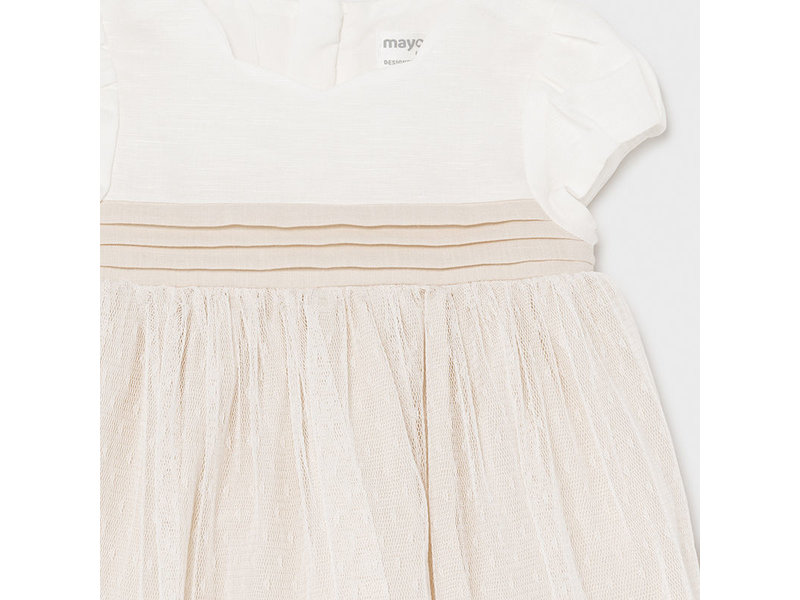 Mayoral Lila Ivory Dress