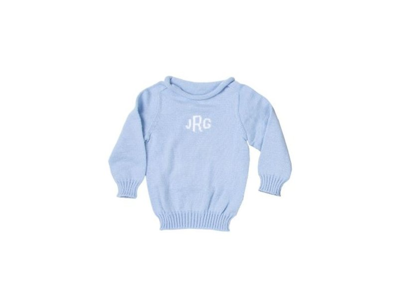 Butterscotch Blankees Personalized Monogram Sweater