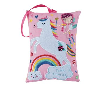 Rainbow Fairy Tooth Fairy Cushion
