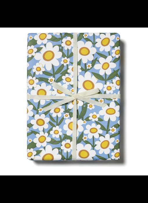 Seventies Daisy Gift Wrap