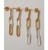 Jurate Brown Xena Chain Earring