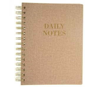Gold Daily Notes Soft Cover