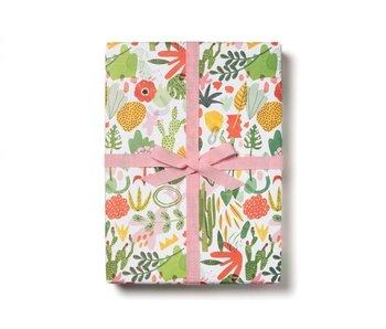 Succulent Garden Gift Wrap
