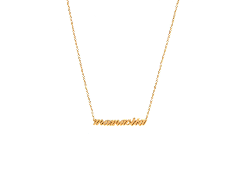 Jurate Brown Hey Mamacita Necklace