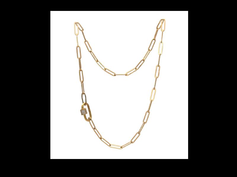 Jurate Brown Rosetta Necklace
