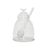 Two's Company Honey Pot with Dipping Stick