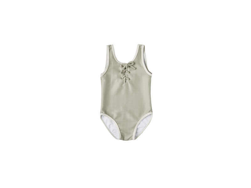 Rylee + Cru Laced One-piece Swimsuit
