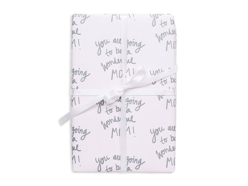 Good JuJu Ink New Mom Gift Wrap