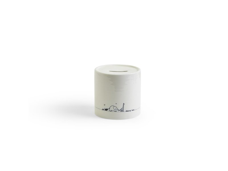 Two's Company Money Box with Gift Box
