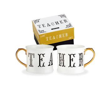 Teacher Lithographie Mug