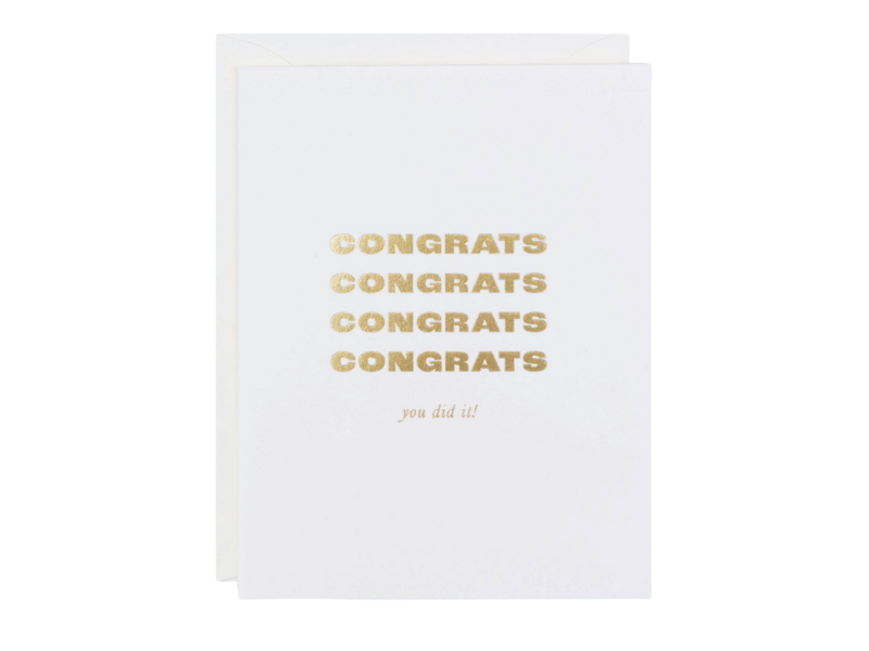Kindly Cards Congrats, You Did It!