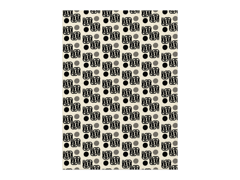 Red Cap Cards Dance Gift Wrap
