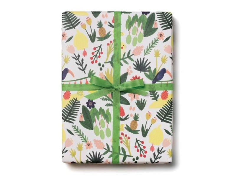 Red Cap Cards Paradise Gift Wrap