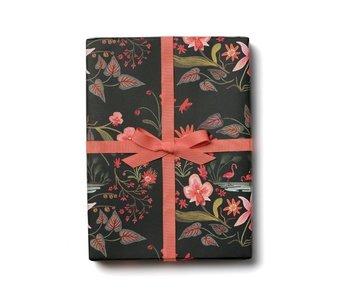 Pink Flamingos Gift Wrap