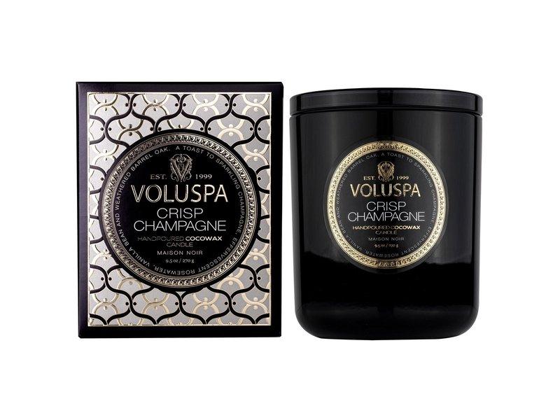 Voluspa Crisp Champagne Classic Maison Candle